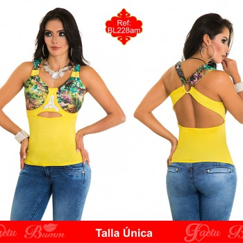 blusas colombianas BL228am