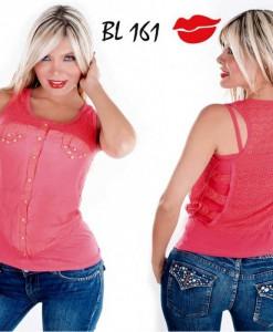 Blusa colombiana BL161-Rosa