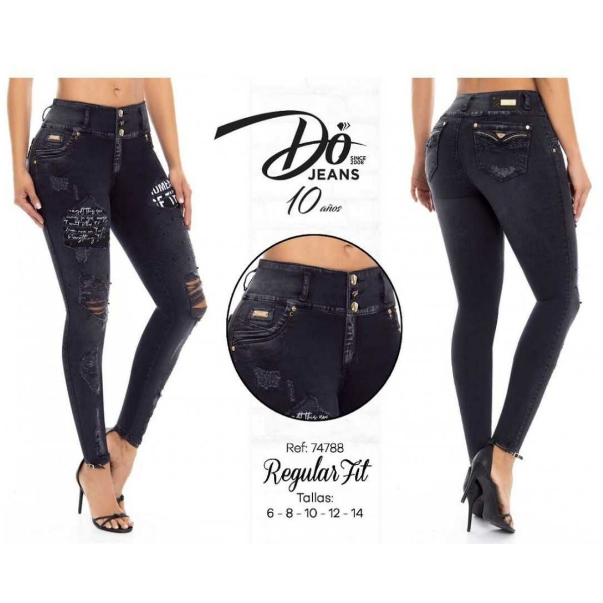 Pantalon Push Up Do Jeans 74788