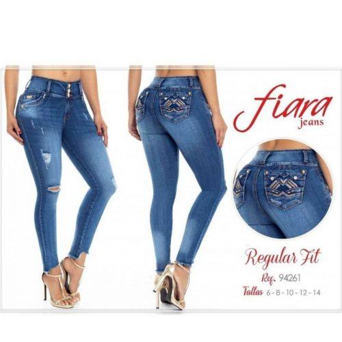Jean Push Up Fiara Jeans 94261