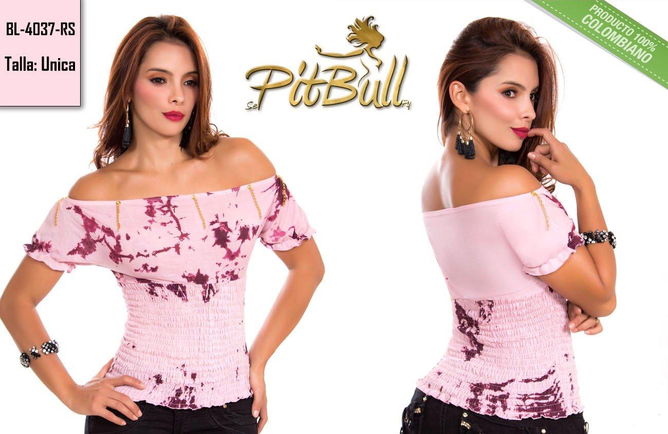 5ac746b1698ca Blusa fashion Colombiana BL4037RS - Kaprichos Moda Latina