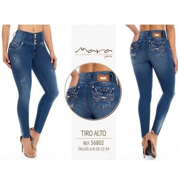 Jeans Push Up Mara 56802