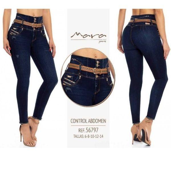 Jeans Push Up Mara 56797