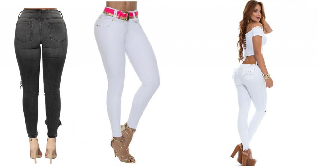 Pantalones colombianos Falsos