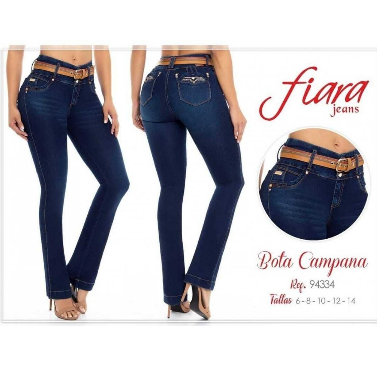 Jean Bota Campana Fiara Jeans 94334