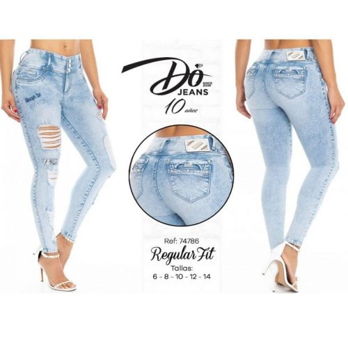 Pantalon Push Up Do Jeans 74786