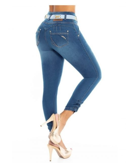 Pantalon Colombiano Tiro Alto PL6798_2