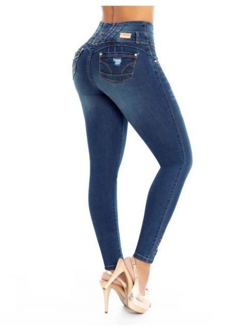 Pantalon con Faja en Cintura PLF6790