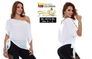 Blusa fashion Colombianas BL4072BL
