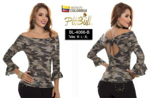 Blusa fashion Colombianas BL4066