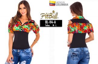 Blusa fashion Colombianas BL114