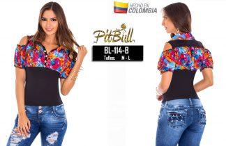 Blusa fashion Colombianas BL114