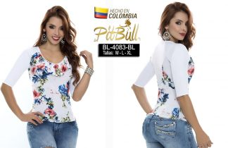 Blusa fashion Colombianas BL4083