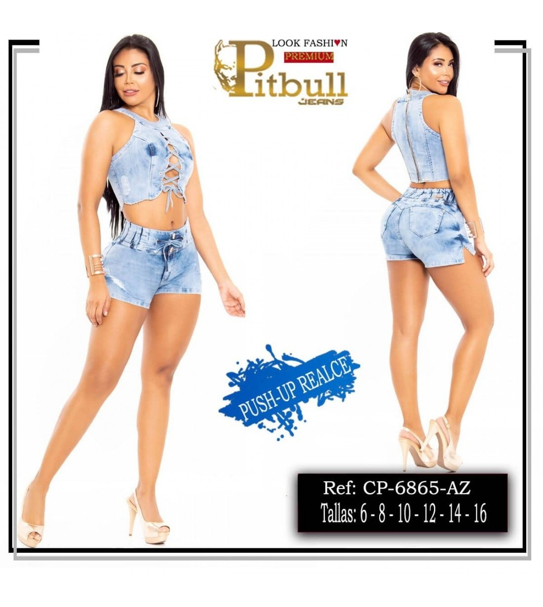 Conjunto Vaquero Pitbull - 6865