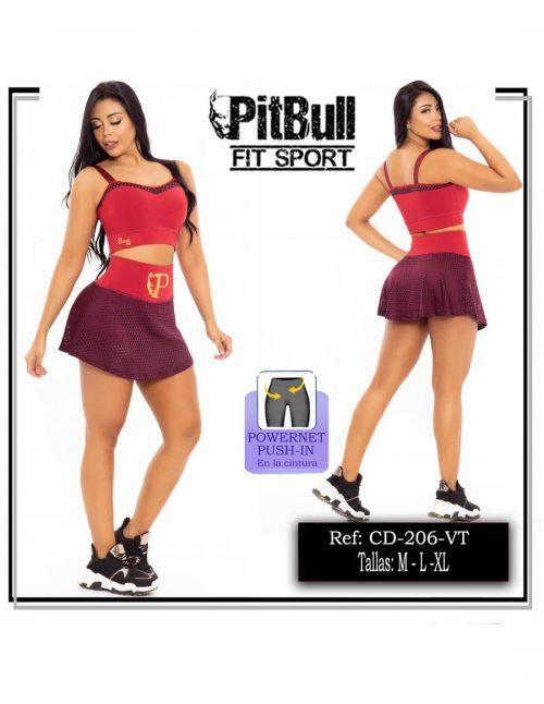 Conjunto Deportivo Pitbull CD206