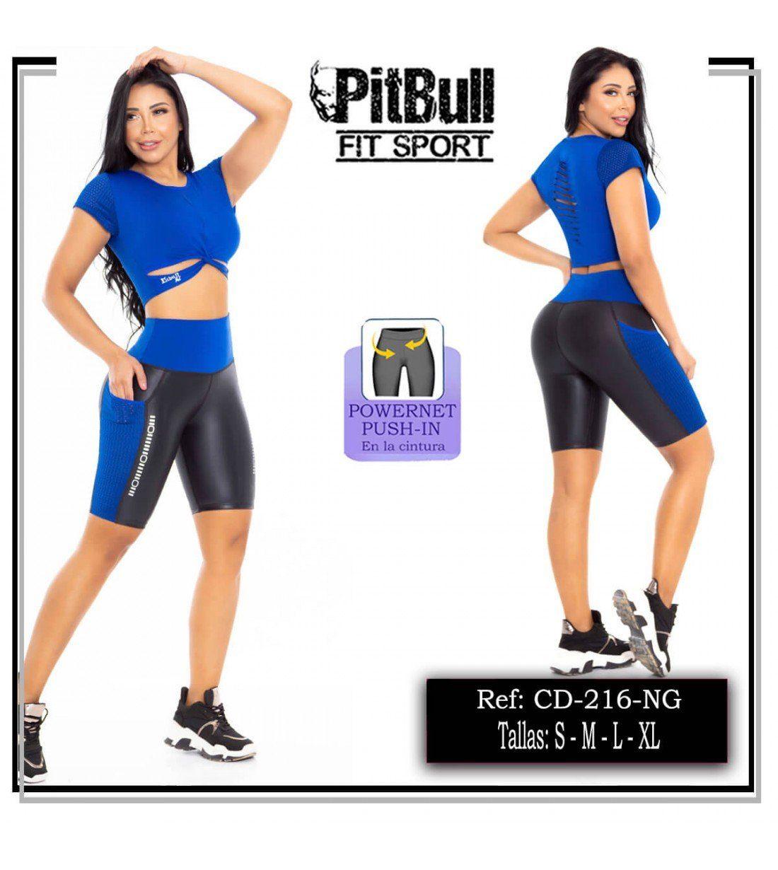 Conjunto Deportivo Pitbull CD216