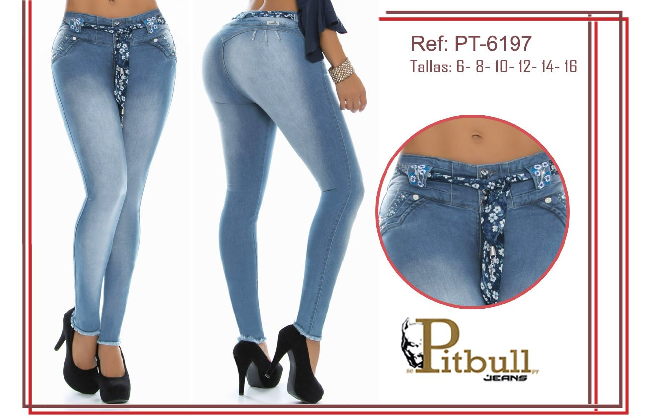 Pantalon Levanta cola pitbull PT6197