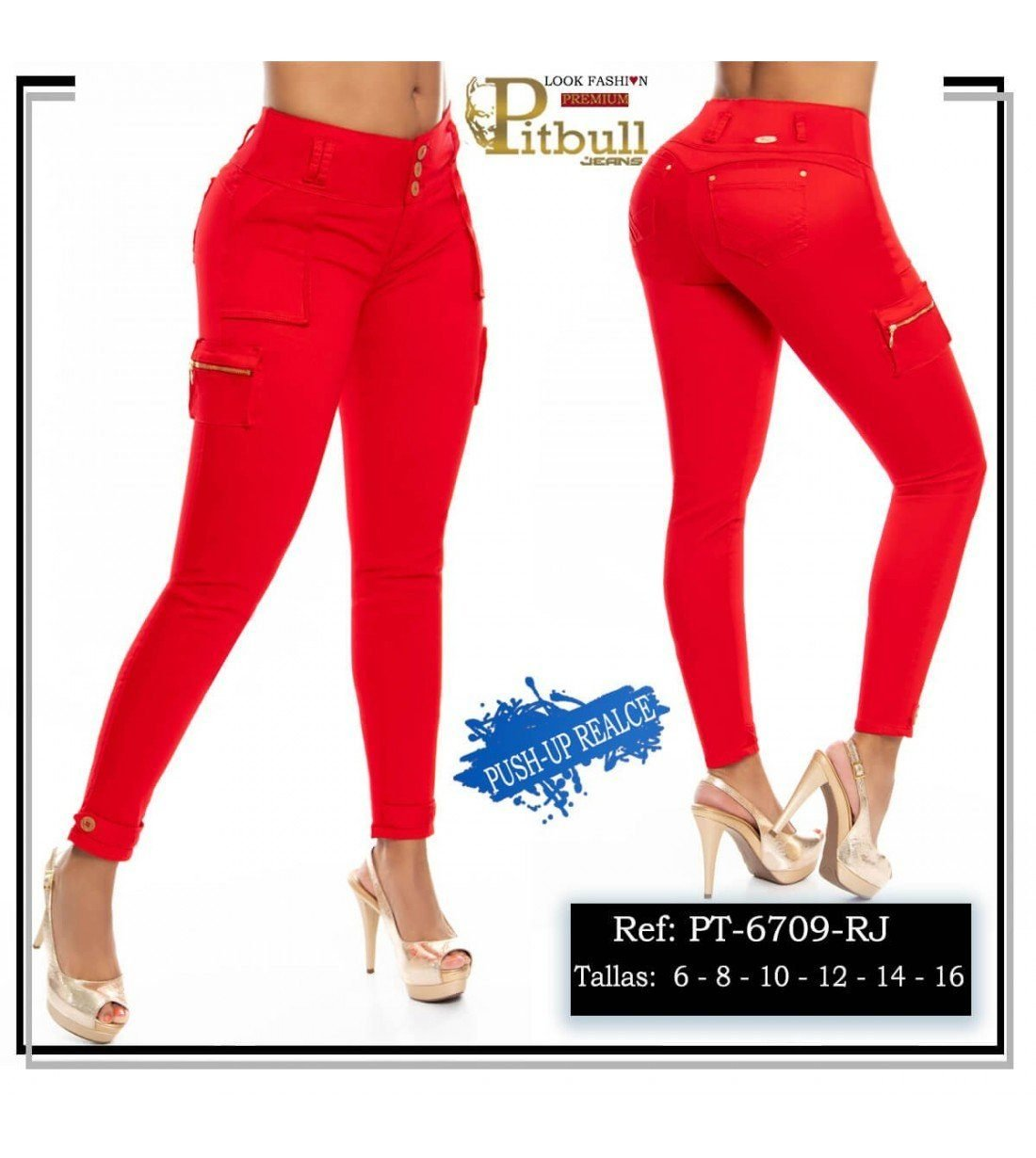 Pantalon Colombiano PT6709