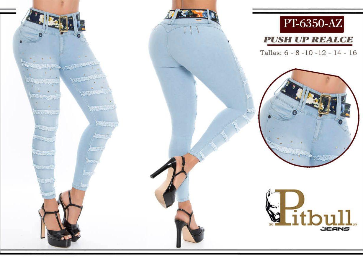 Jeans levata cola