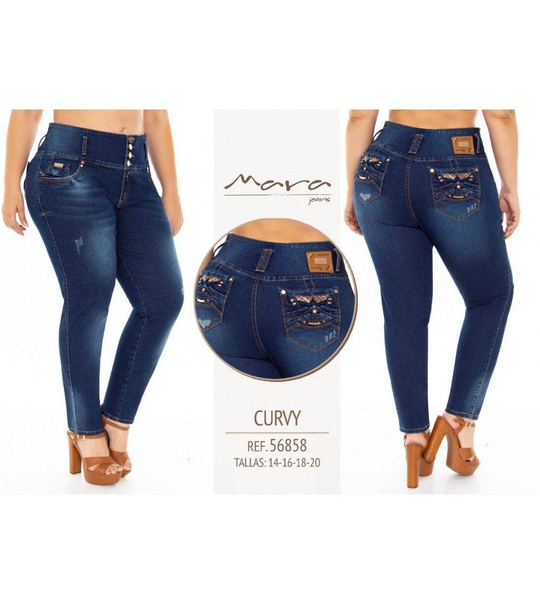 Jeans Levanta cola Mara -56858
