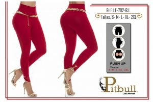 Leggin colombiano push up LE702RJ