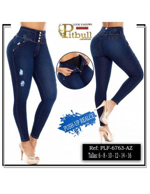 Pantalon con Faja en Cintura PLF6763