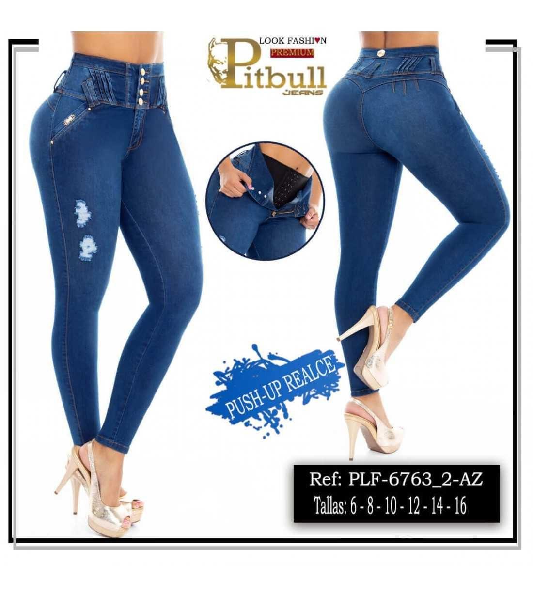 Pantalon con Faja en Cintura PLF6763_2