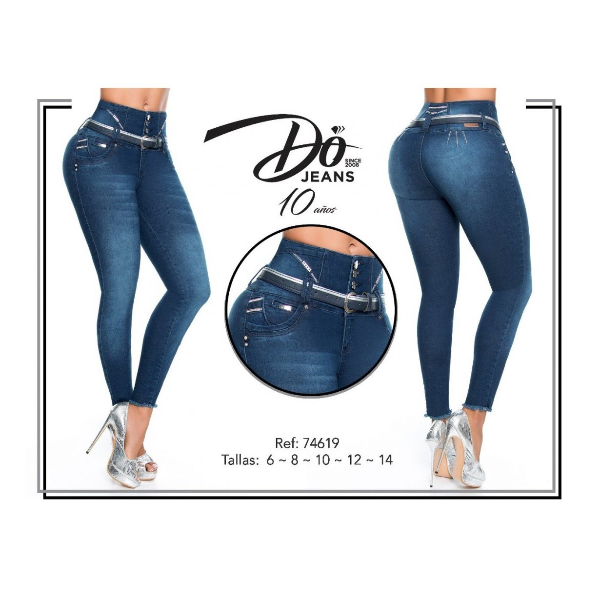 Pantalon Colombiano Do Jeans PD74619