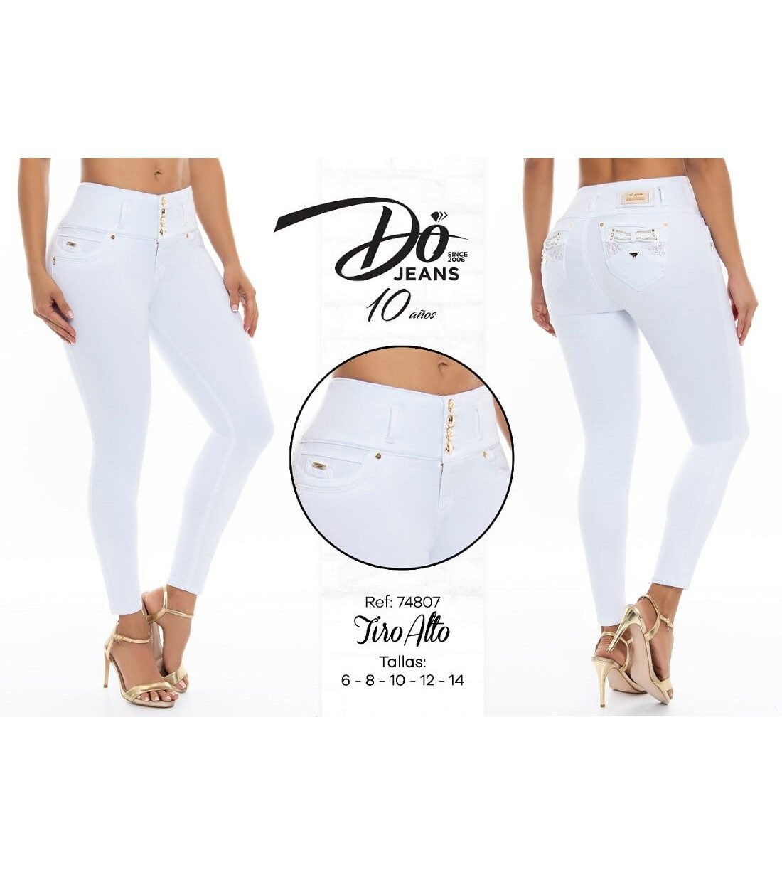 Pantalon Colombiano Do Jeans - PD74807