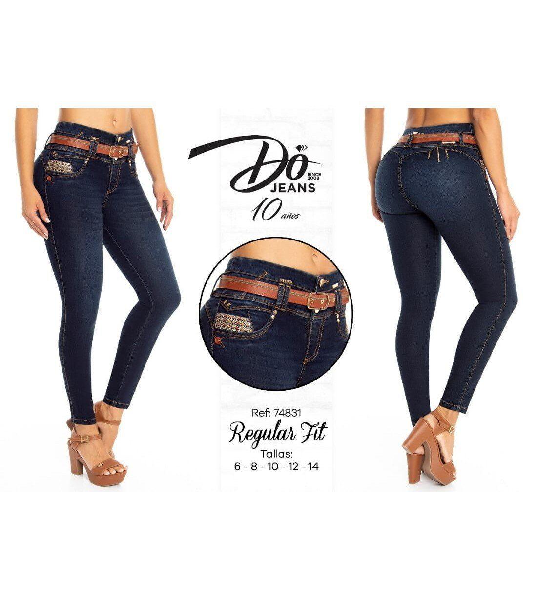 Pantalon Colombiano Do Jeans -74831