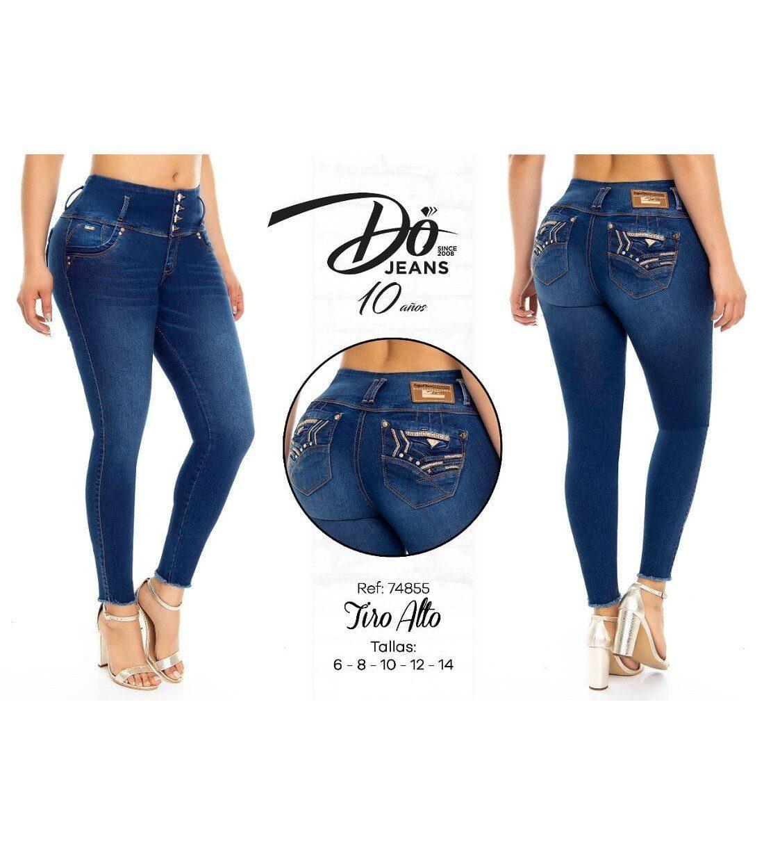 Pantalon Colombiano Do Jeans -74855