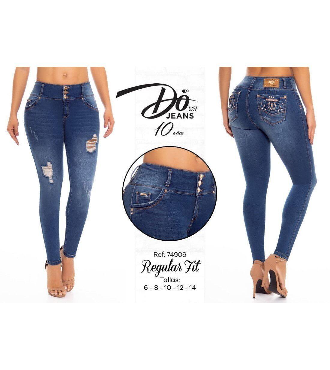 Pantalon Colombiano Do Jeans -74906
