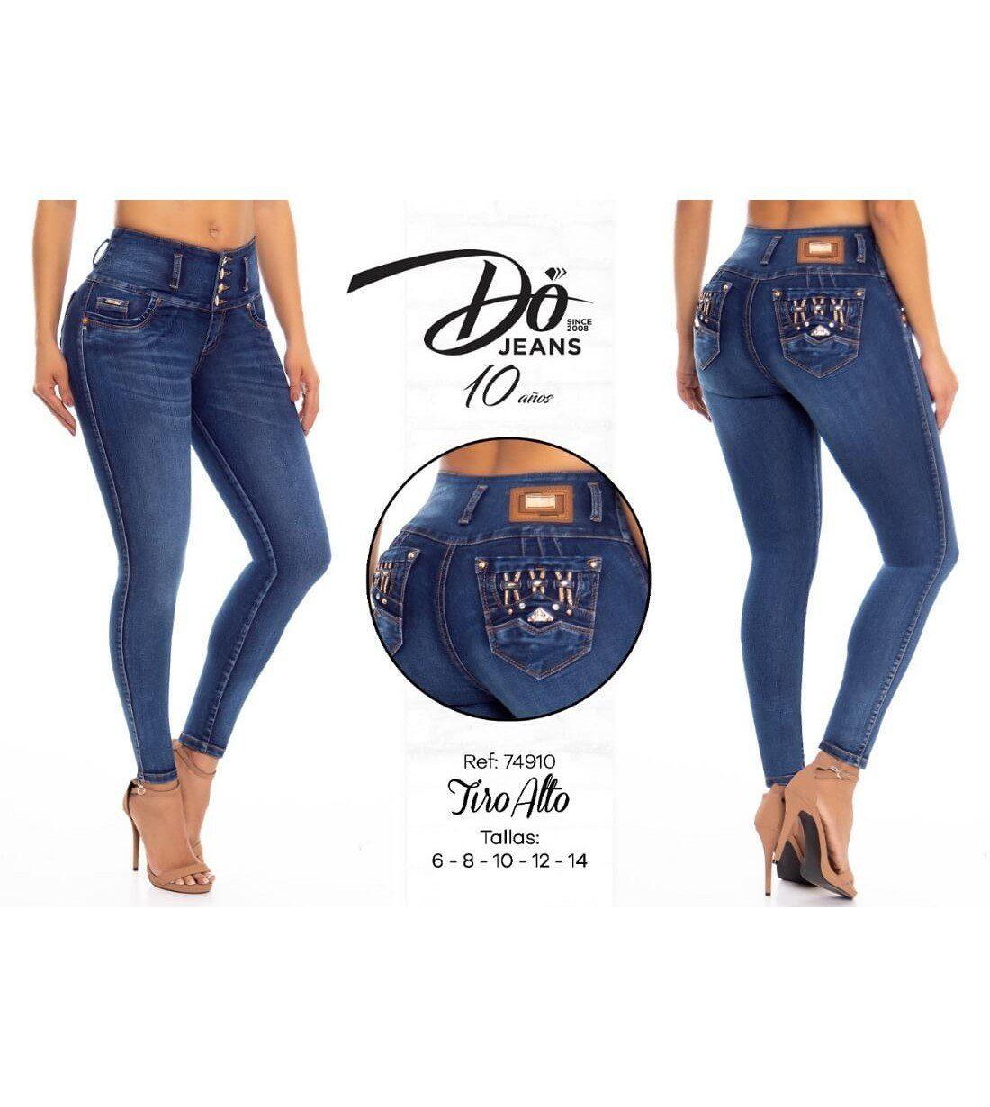 Pantalon Colombiano Do Jeans -74910