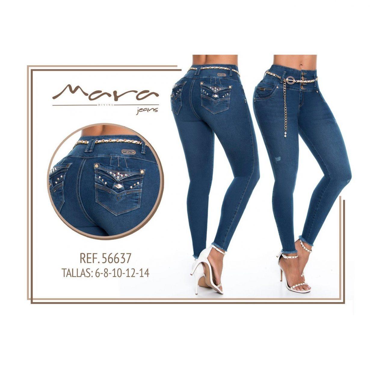 Pantalon Colombiano Mara Jeans PM56637