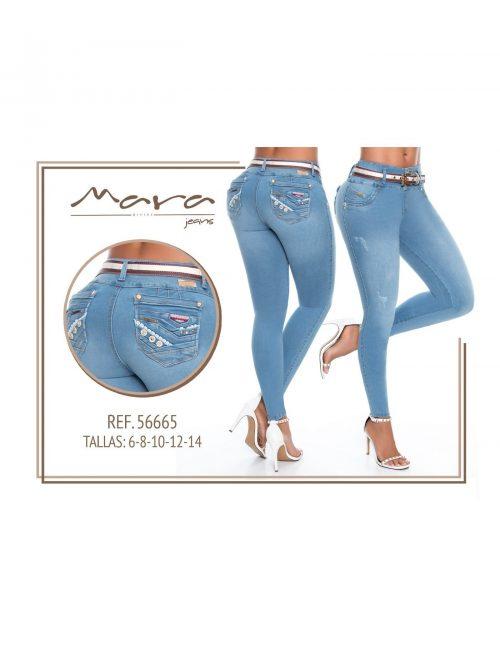 Pantalon Colombiano Mara Jeans PM56665