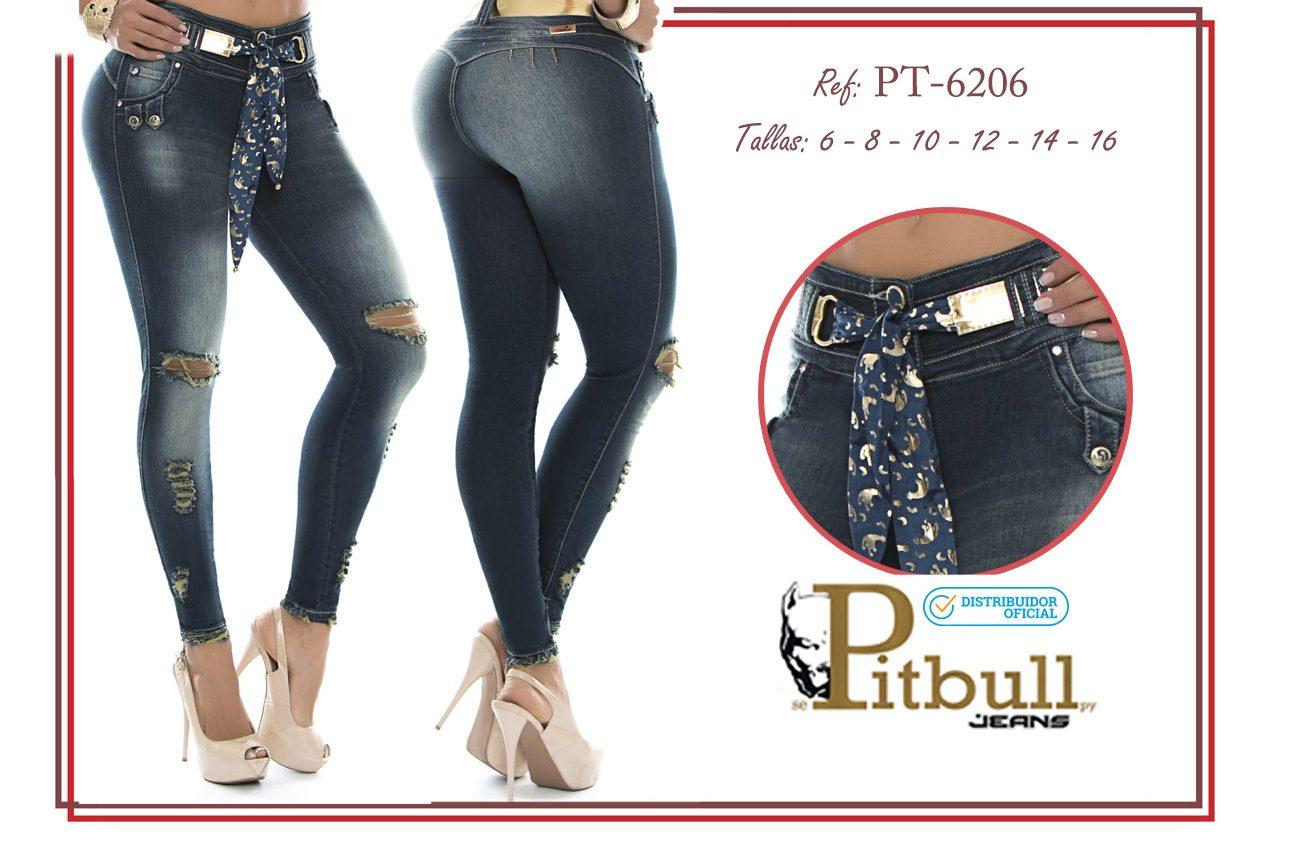 Pantalón colombiano levanta cola PT6206