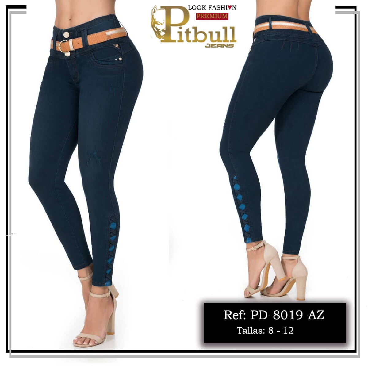 Jeans Pitbull Colombiano 8019