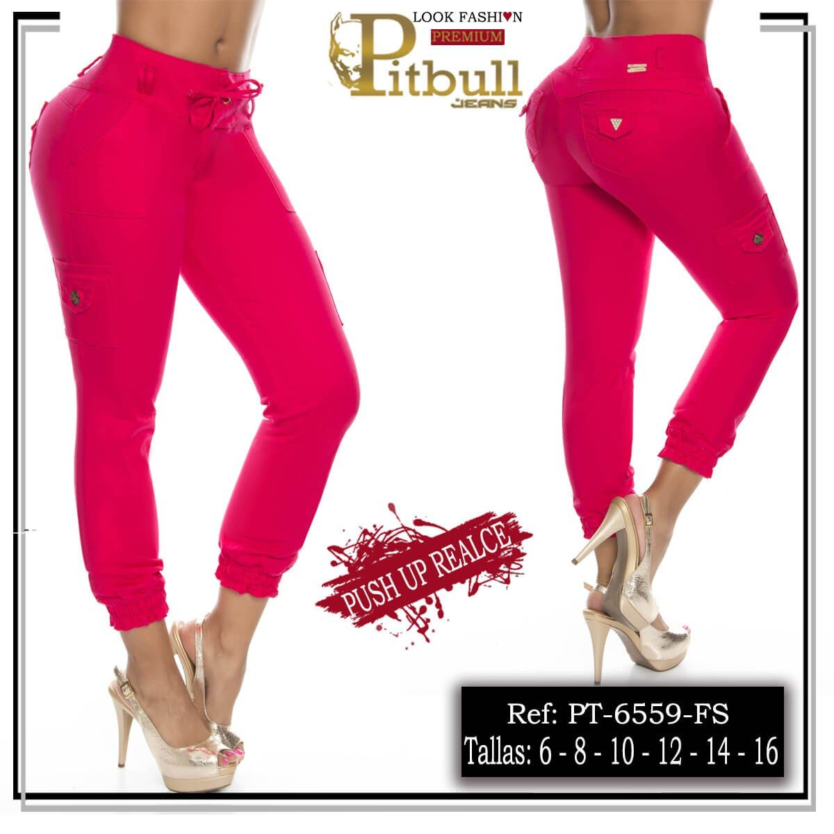Pantalon levanta cola PT6559