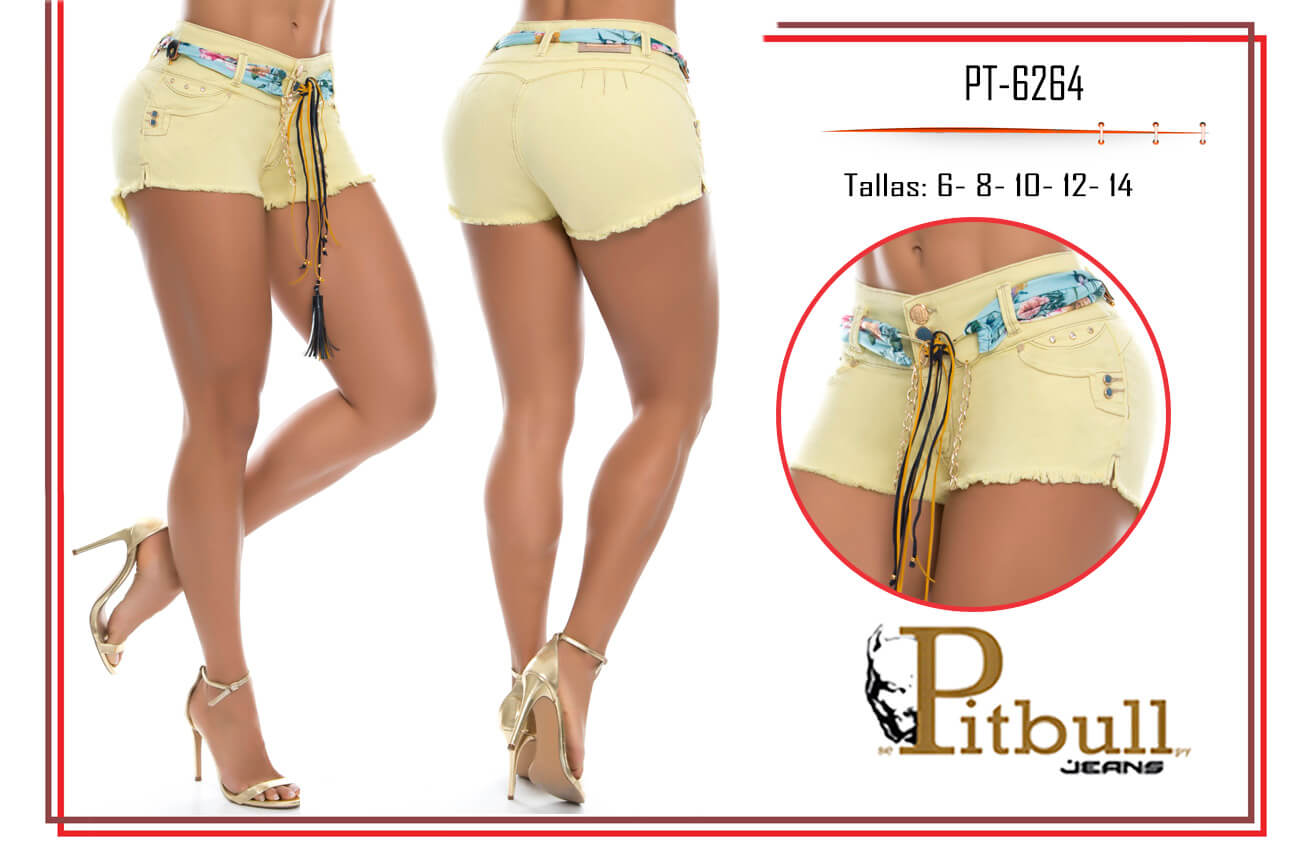 Short levanta cola colombiano SP6264