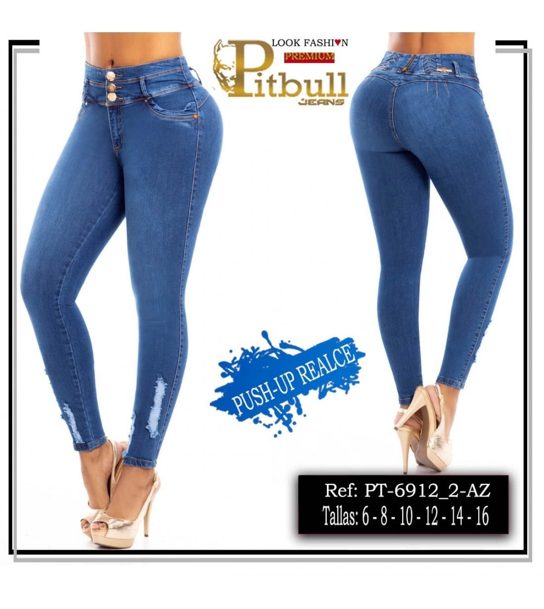 Pantalon Colombiano Pitbull- 6912_2