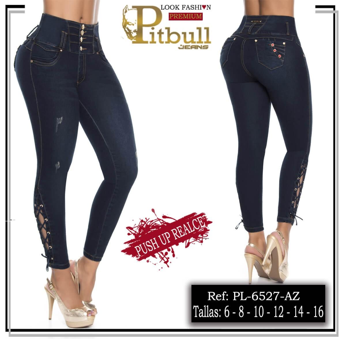 Pantalon Tiro Alto Pitbull 6527