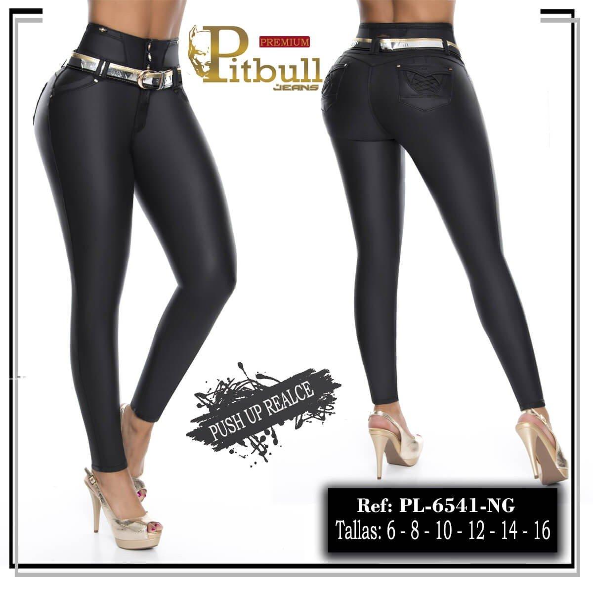 Pantalon Tiro Alto Pitbull 6541