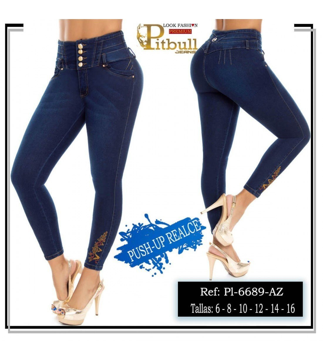 Pantalon Colombiano PL6689