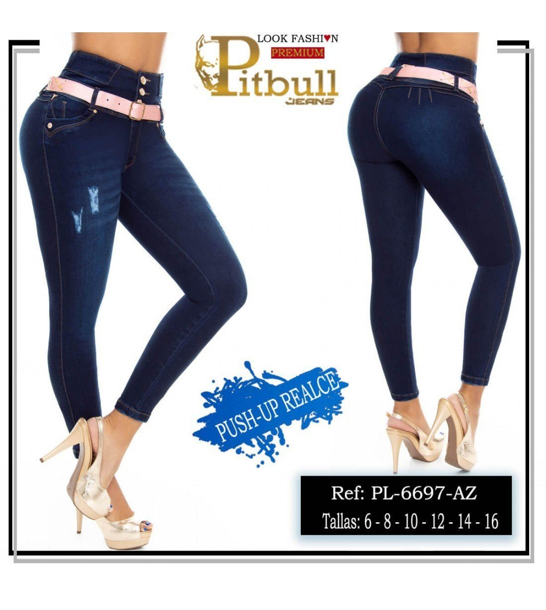Pantalon Colombiano PL6697