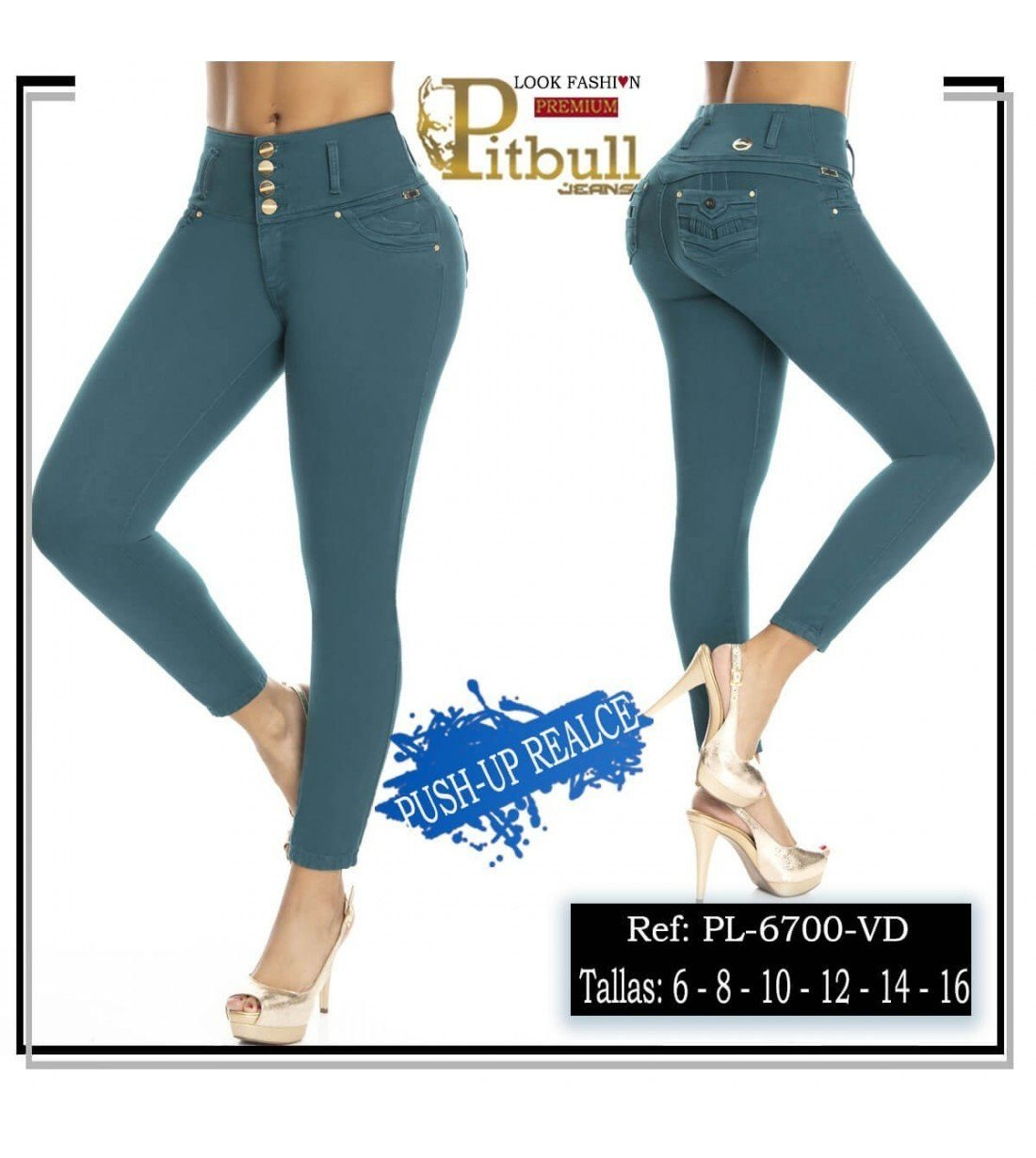 Pantalon Colombiano PL6700