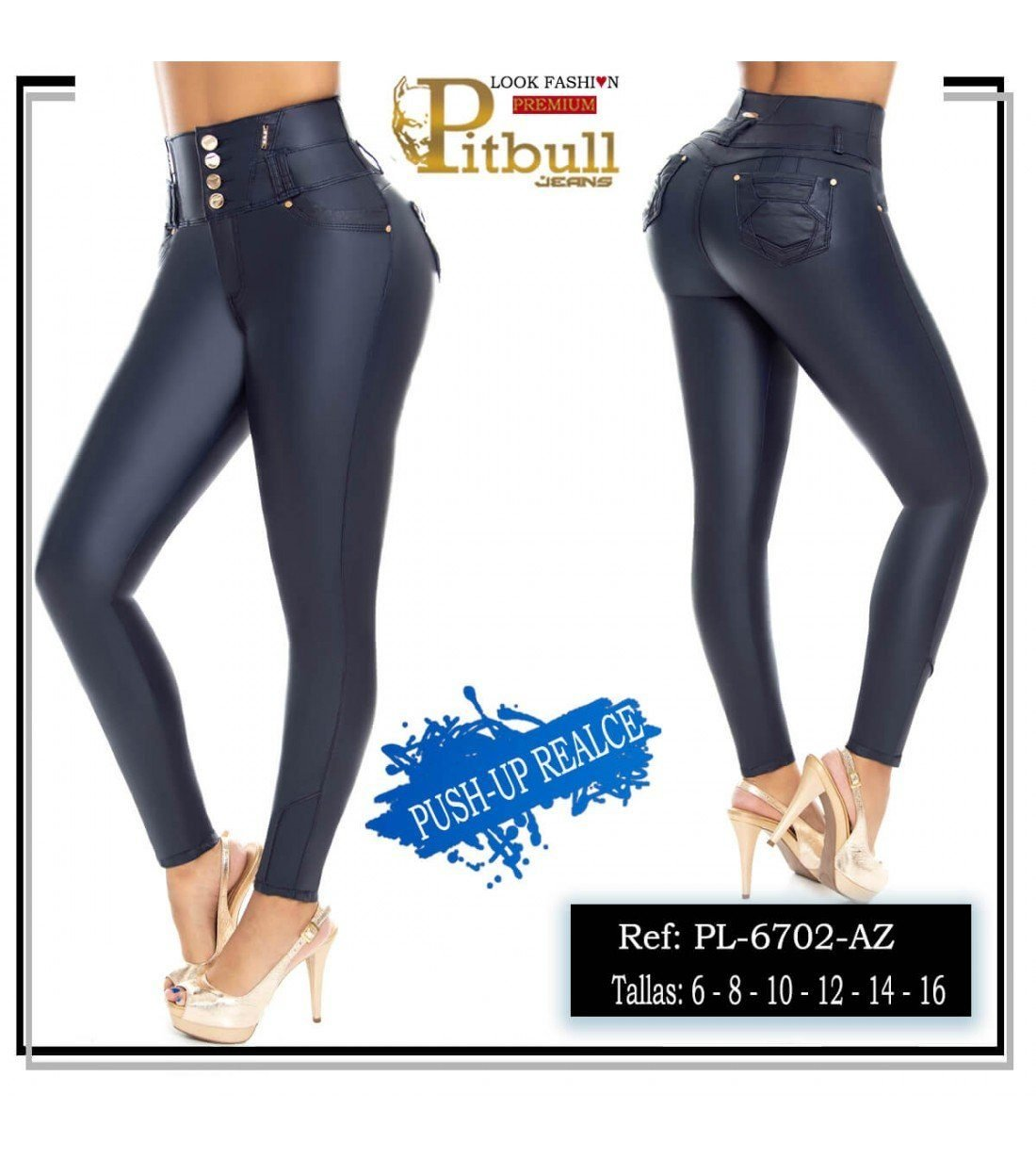 Pantalon Colombiano PL6702