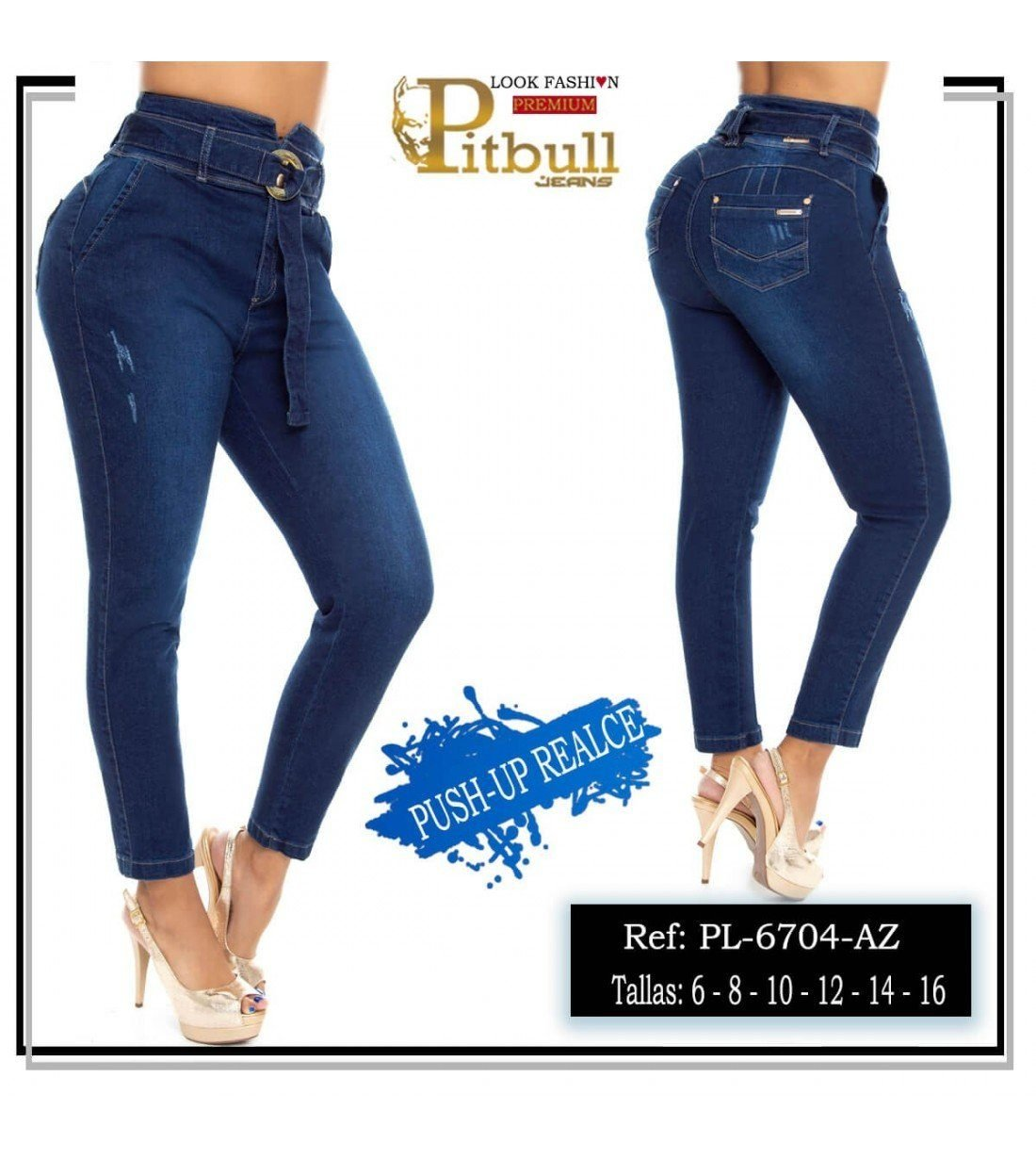 Pantalon Colombiano PL6704