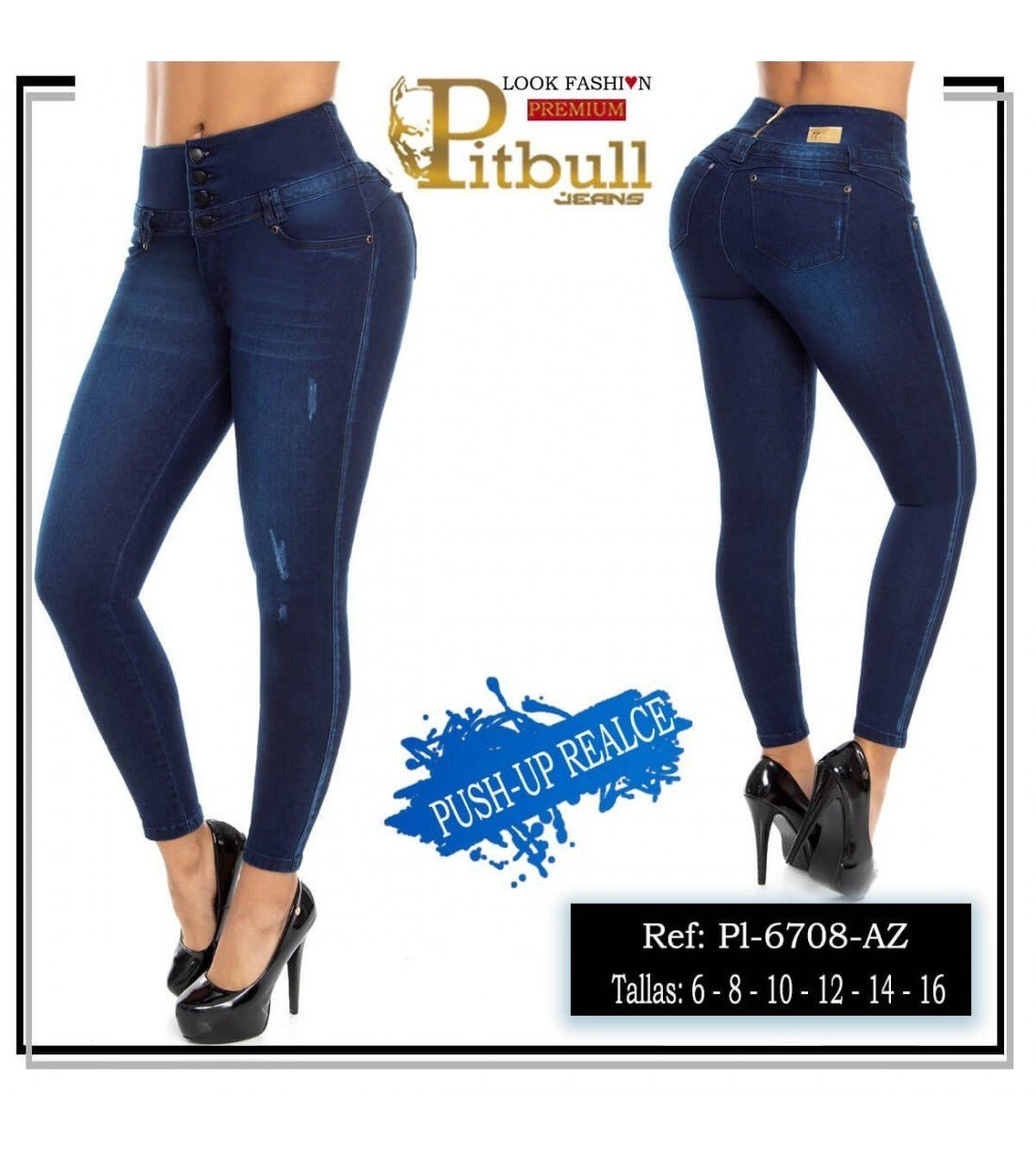 Pantalon Colombiano PL6708