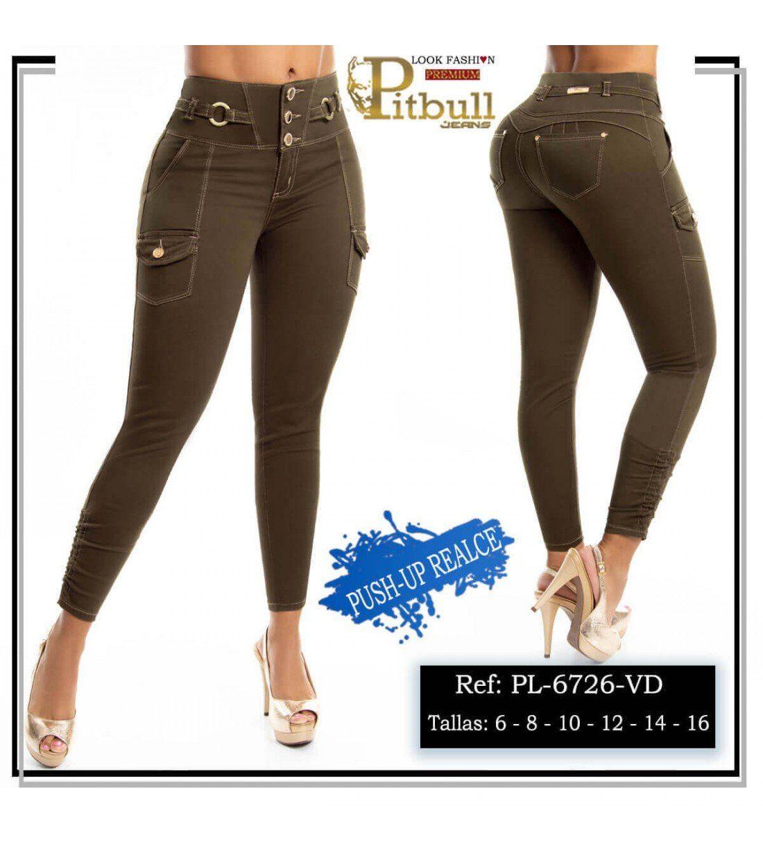Pantalon Pitbull Tiro Alto PL6726