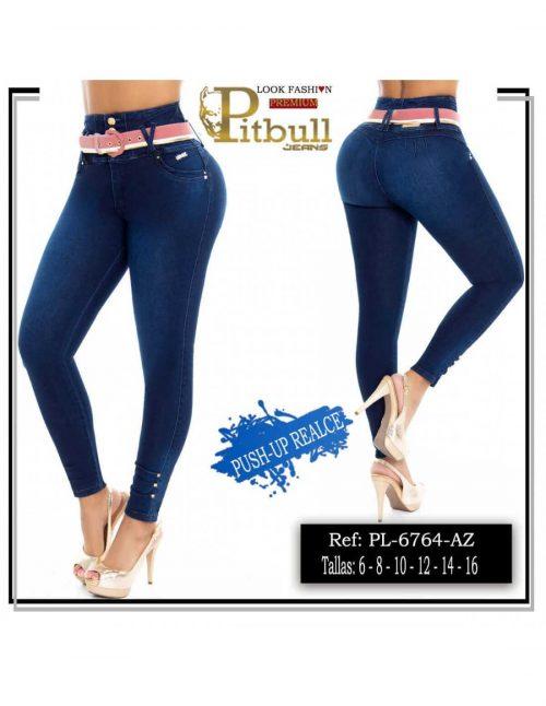 Pantalon Pitbull Tiro Alto PL6764